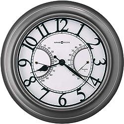 """Howard Miller Tawney Indoor / Outdoor Wall Clock 625-668 – 34.25"""" Oversized Gallery with Quartz Movement"""