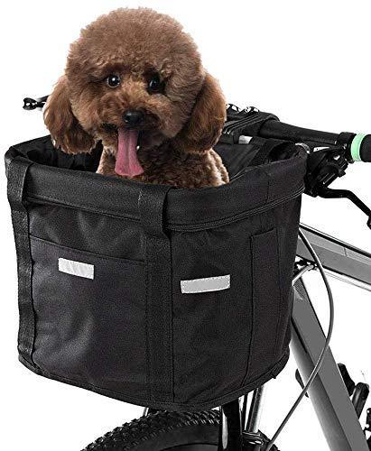 JKUNYU Cuadro de la bicicleta de la cesta del bolso de la bicicleta de la bici del bolso del manillar de la bici marco de la bolsa impermeable Compatible with guardar bicicletas MTB Bolsa Bolsa de acc
