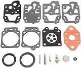 Reemplazar el carburador Parte portátiles con motor for Walbro K20-WYL WYL-240-1-242-1 WYL carburador kit de reparación de la herramienta Reconstruir Juego de juntas carburador moto Carb Kit 1017