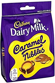 Cadbury Dairy Milk Caramel Nibbles Chocolate Bag (120g x 5)