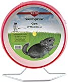 Kaytee Small Animal Silent Spinner Wheel Giant 12 Inch (Assorted Colors)