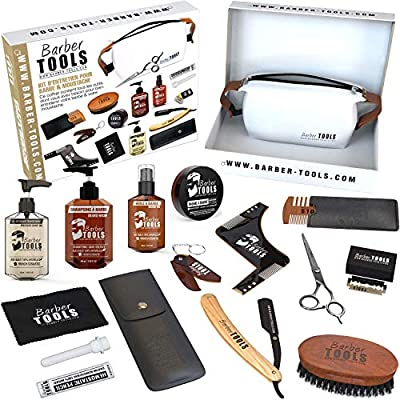 BARBER TOOLS Kit/Set/Estuche de