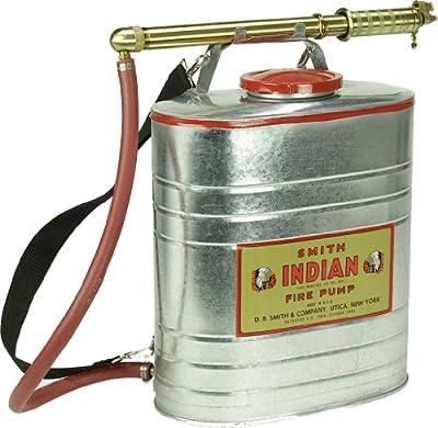 Indian 179014-1 Galvanized Fire Pump, 5-Gallon