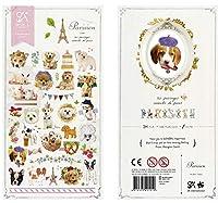 韓国の輸入ブランドペット猫犬文房具ステッカースクラップブッキングDIY用品日記ステッカースクールオフィス