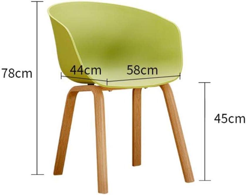 LHY- Simple Chaise Bureau étudiant et Chaise de Maquillage Tabouret Retour à la Maison à Manger Chaise d'ordinateur Confortable (Color : Blue) Green