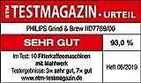 Philips Grind and Brew HD7769/00 Filterkaffeemaschine mit Mahlwerk - 10