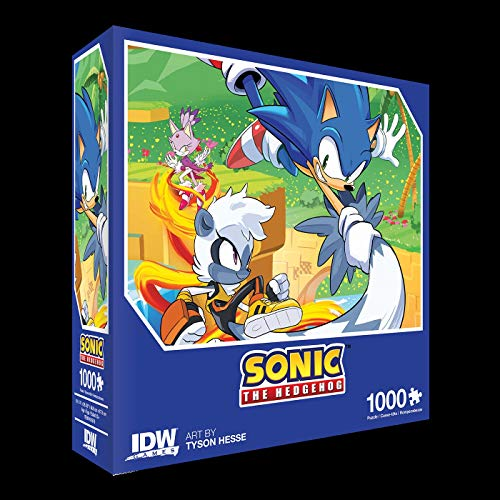 Sonic The Hedgehog: Too Slow! Premium Puzzle: 1000 piece