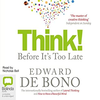 Think!: Before It's Too Late cover art