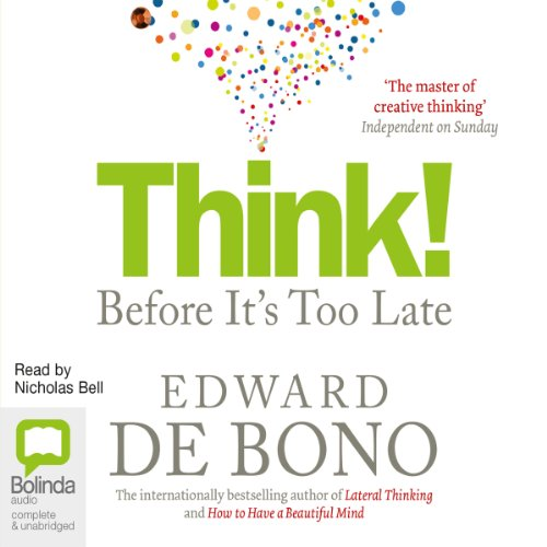 Think!: Before It's Too Late audiobook cover art