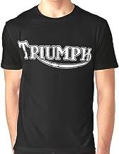 GENUINE TRIUMPH SANDFORD T-SHIRT TRIUMPH MOTORCYCLE LOGO SHIRT IN BEIGE