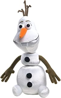 Disney Frozen Pull Apart Talking Olaf Joking Snowman Plush Pal