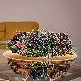 Profolio | Originale Tischfolie rund transparent mit abgeschrägte Kante | Hochglanz Tischdecke Tischschutz für Ihren Tisch 2mm | Made in Germany | Größe wählbar | 110 cm - 3