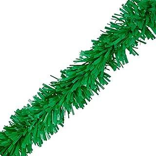 TCDesignerProducts Grass Green Vinyl Twist Garland - 4 Inches x 25 Foot Roll