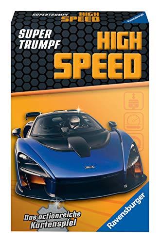 Ravensburger Kinderkartenspiele 20687 - Kartenspiel, Supertrumpf High Speed, Quartett und Trumpf-Spiel für Technik-Fans ab 7 Jahren