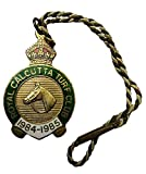 """Beautiful Collectable Membership Badge of Royal Calcutta Turf Club 1984 - 1985 Collectors item. Perfect for collections, gifts, souvenirs, arts and crafts and enthusiasts Weight 11.5 g , Size 3 CM X 3 CM Approx Just click on """"Aranyak Hobby"""" Store abo..."""