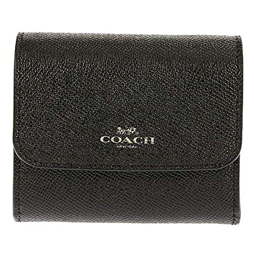 キリン信念自宅でCOACH(コーチ)折財布 二つ折り財布 レディース レザー F54843 IMBLK ブラック [並行輸入品]