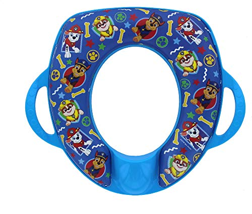 """Paw Patrol""""Best Pup"""" Potty Seat with Handles - Soft Toilet Seat - Easy Cleaning"""
