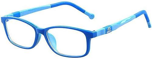 TR90 Kids Blue Light Blocking Computer Glasses Video Gaming Glasses for Children Deep Sleep Eyewear 4-12