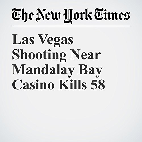 Las Vegas Shooting Near Mandalay Bay Casino Kills 58 copertina