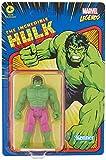 Hasbro Marvel Legends Series - Figura de Hulk de 9.5 cm - Colección Retro 375