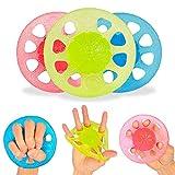 STRLONG Handtrainer Fingertrainer Set,Handtherapie-Ball für Finger Fitness Krafttraining,Therapie,...