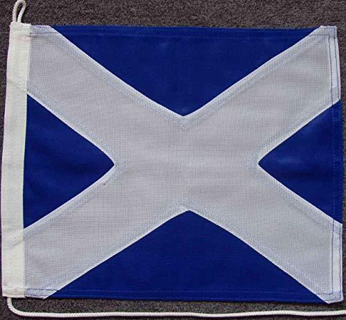 flaggenmeer® Signalflagge M - Mike ca. 30 x 35 cm