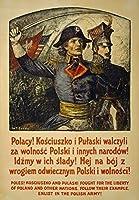 ポーランドポーランド募集入隊、ブリキサインヴィンテージ面白い生き物鉄絵画金属板ノベルティ