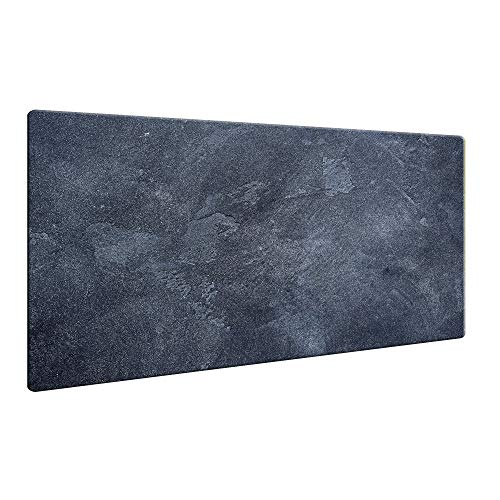 CTC-Trade | Herdabdeckplatten 80x52cm Ceranfeld Abdeckung Glas Spritzschutz Abdeckplatte Glasplatte Herd Ceranfeldabdeckung Natur Schwarz