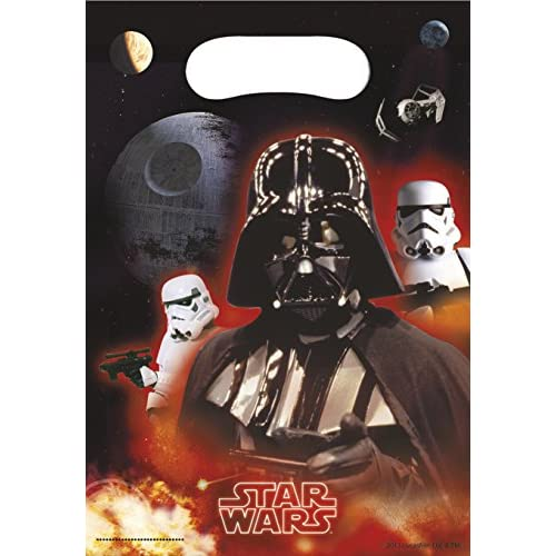 Star Wars 71969, Sacchetti per Caramelle, 6 Pezzi