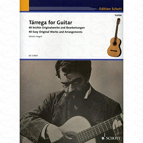 FOR GUITAR - arrangiert für Gitarre [Noten/Sheetmusic] Komponist : TARREGA FRANCISCO