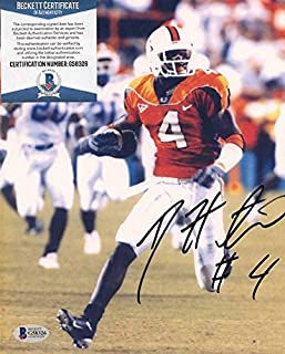 Autographed Devin Hester Photo - 8x10 Beckett G58326 - Beckett Authentication - Autographed College Photos