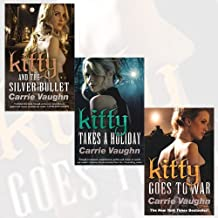 Carrie Vaughn Collection Kitty Norville 3 Books Set (Kitty and the Silver Bullet, Kitty Takes a Holiday,Kitty Goes to War)