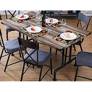 Furniture of America CM3365T Brixton I Rectangular Dining Table