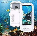 Egurs Universal Tiefseetauchen-Telefon-Kasten 45m / 147ft Foto-Video, das Wasserdichten...