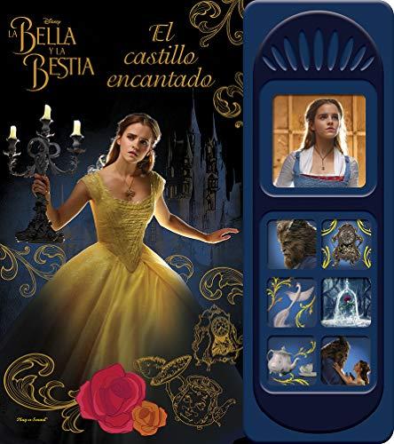 La bella y la Bestia. El castillo encantado. 7 botones sonido: 0 (LSD)