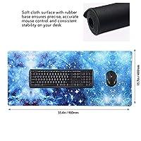 クリスマス マウスパッド ゲーミングマウスパット デスクマット キーボードパッド 滑り止め 高級感 耐久性が良い デスクマットメ キーボード パッド おしゃれ ゲーム用(90cm*40cm)