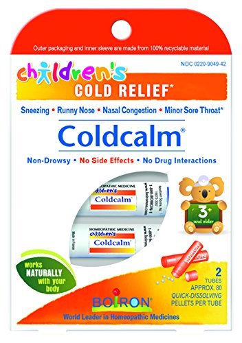 Boiron Children's Coldcalm, Homeopathic Medicine for Cold Relief, 2 Count