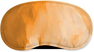 Colored Abstract Watercolor Orange - Sleeping Mask - Sleeping Mask