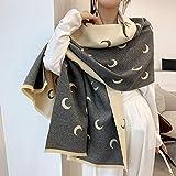 Bufanda Bufanda De Marca Hijab Invierno Cachemira Plaid Chal Grueso Y Pañuelo Cálido para Mujer Bufandas Foulard Seechart3
