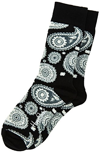Happy Socks Hspa01 - Chaussettes - Mixte - Noir (98) - 41-46 (Taille fabricant: 41-46)