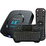 Box Android TV Support 6K 3D [4GB 64GB] H616 Puce Wi-FI 2.4G/5G LAN 100M USB 2.0 Bluetooth 4.1 avec Mini Clavier