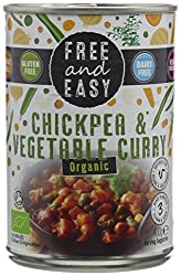 Warm mix of spices with vegetables and chickpeas to make a medium spiced curry Tasty gluten free mix of beans Vegetables in a medium-spiced sauce Free from foods, full on flavours Ready in 3 minutes