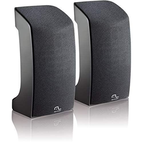 Caixa de Som Multilaser 2.0 1W Preta com USB - SP093
