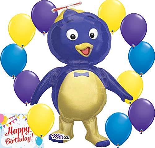 The Backyardigans Party Supplies Big Balloon Pablo Character Decoration Bundle