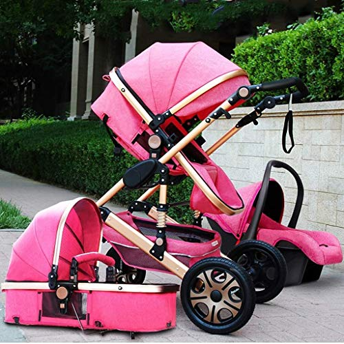 Great Features Of TZZ 3 in 1 Baby Stroller Travel System Pram from Birth Up to 25 Kg with Safe Five-...