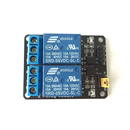 2-Kanal-opto-isolated niedrig Trigger 5V Relais Modul Arduino/Raspberry Pi
