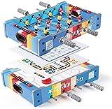 Set de juguetes educativos Tabla Fútbol Hockey 4 en 1 pelota de juguete Tabla mini portátil Home Interactive Toy Ocio Entretenimiento padres e hijos juguete interactivo de múltiples funciones de los n