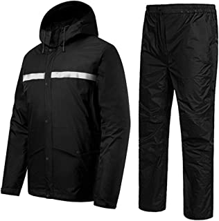Outdoor Waterproof Clothing Suit, Men's Golf Rain Suit Clothing Outdoor Work Camping Travel Motorcycle Golf Fishing Hiking...