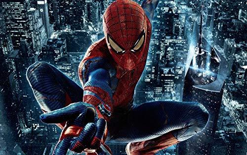 PRWJH Hero Movie Houten puzzel 1000 stukjes, Spider-Man-puzzels Educatieve spellen, voor volwassenen Assembleren van speelgoed Cadeaus voor kinderen Schilderen Huisdecoratie