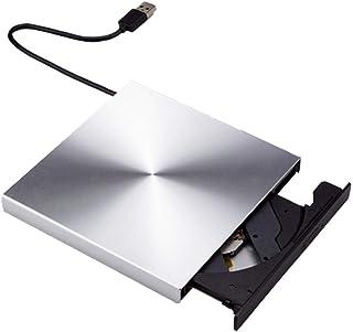 MUMUWU USB3.0 Thread External Optical Disc CD DVD Recorder Player Computer External DVD RW CD Writer